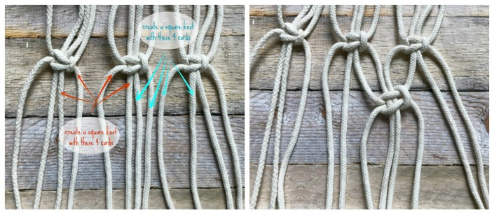 alternating square knot - myfrenchtwist.com