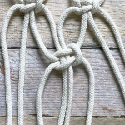 alternating square knot - myfrenchtwist.com