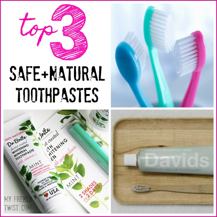 green beauty toothpaste - myfrenchtwist.com