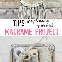 tips for planning your next macrame project