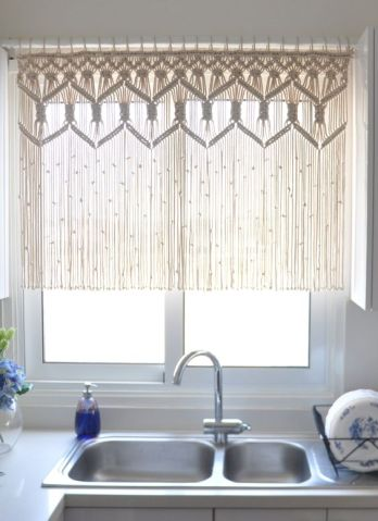 macrame curtain - myfrenchtwist.com