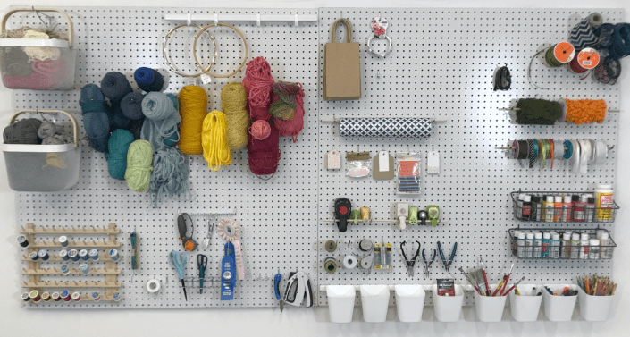 woman's guide to building a pegboard - myfrenchtwist.com