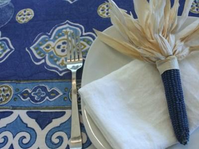 thanksgiving indigo corn - myfrenchtwist.com