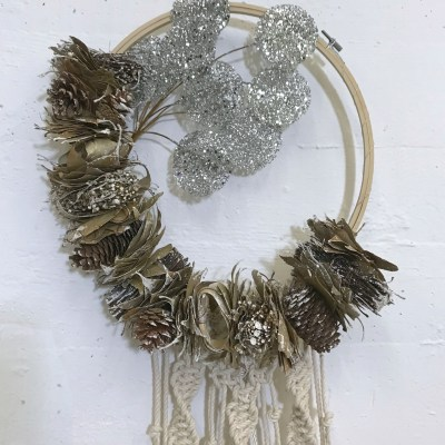 tutorials macrame wreath