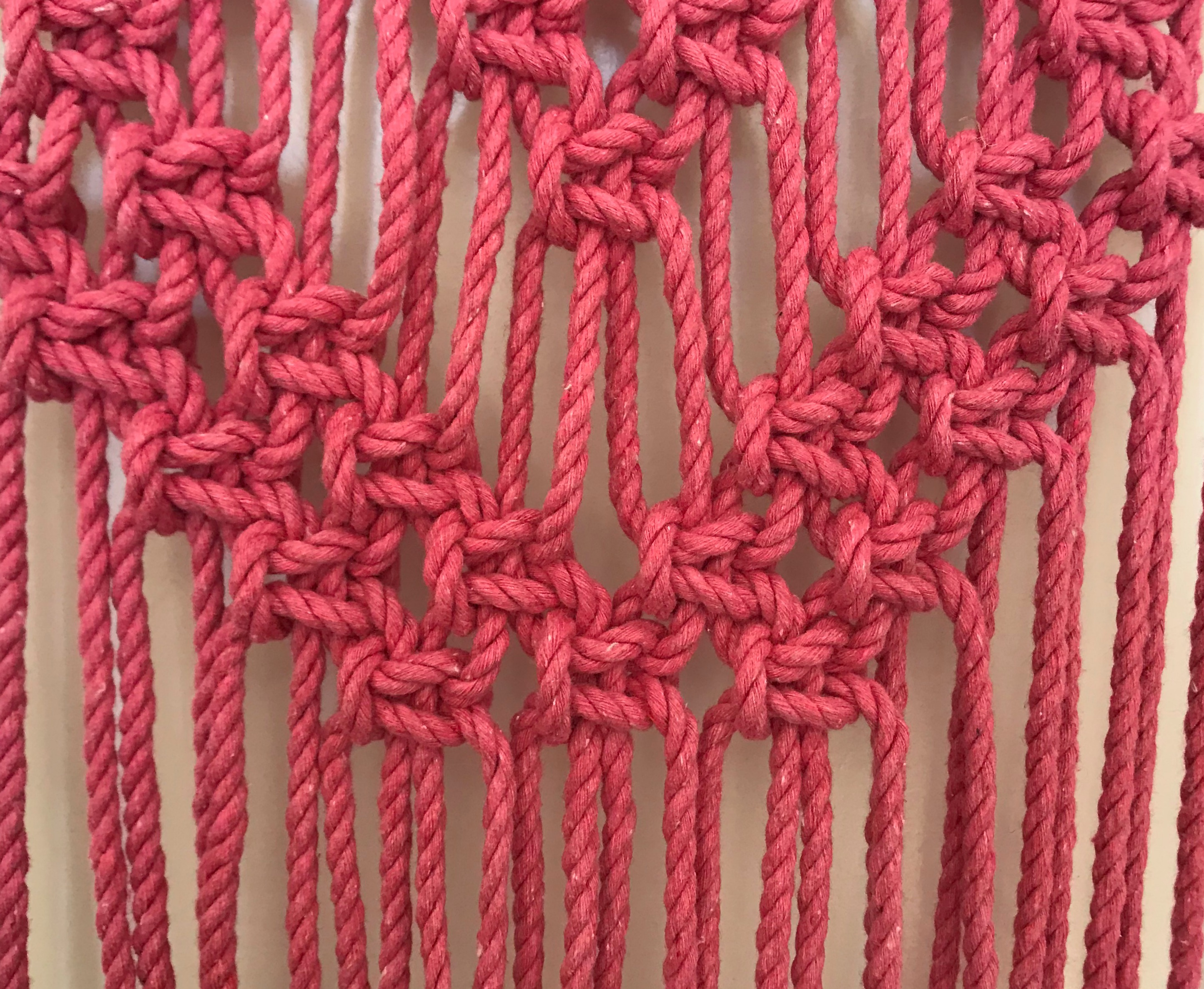 Macrame Alternating Square Knot Diagrams Trusted Wiring Diagram Heart Wall Hanging My French Twist