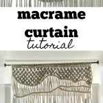 Macrame Curtain My French Twist