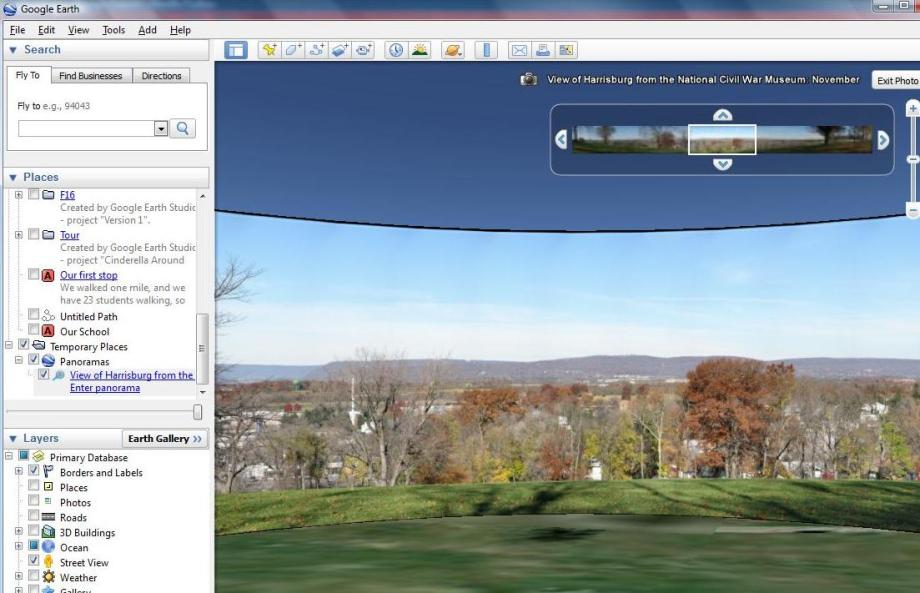 Civil War Places with Google Earth | FreshPlans