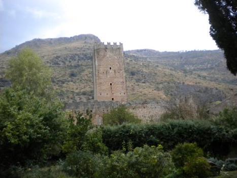 medieval ruins at Ninfa