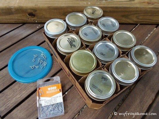 Supplies Needed to Build a Carpenter Bee Trap
