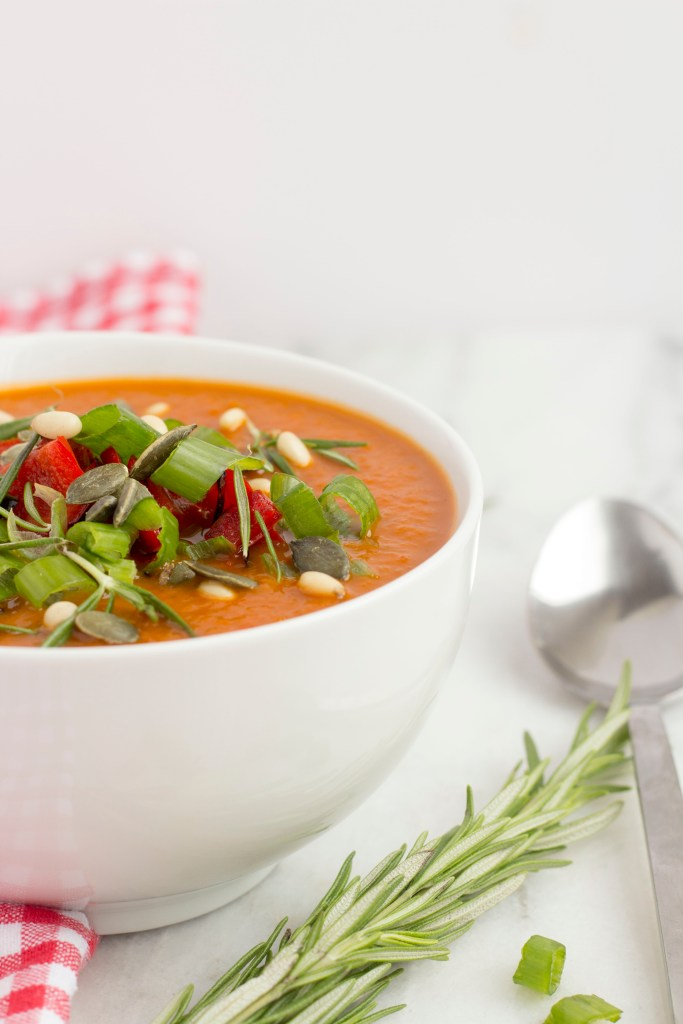 Easy and simple to make tomato soup recipe 1