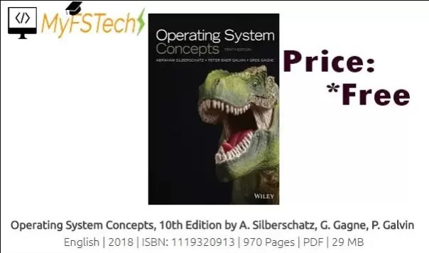 Operating System Concepts 10th Edition (2018) Free Download