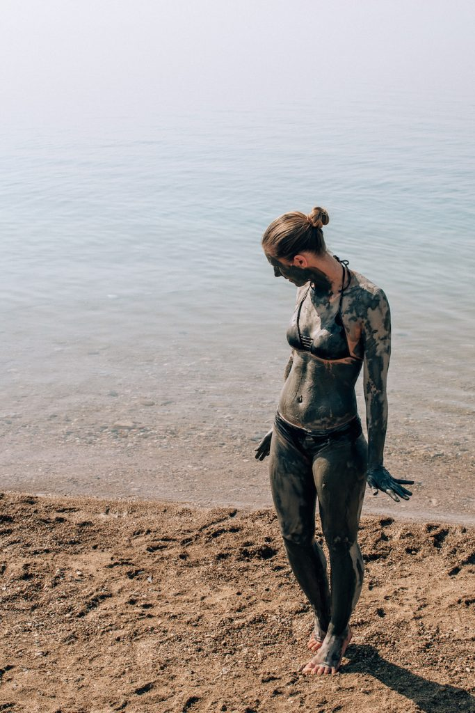 Covered with Dead Sea Mud 🙈