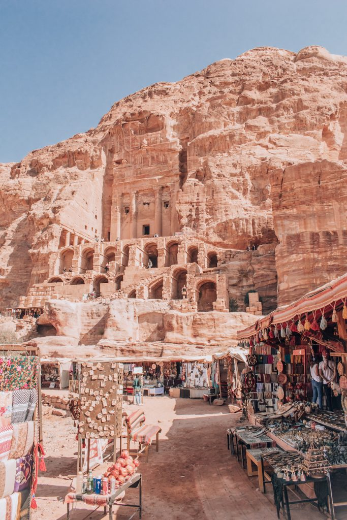 'Royal Tombs' are one of the most impressive places in Petra