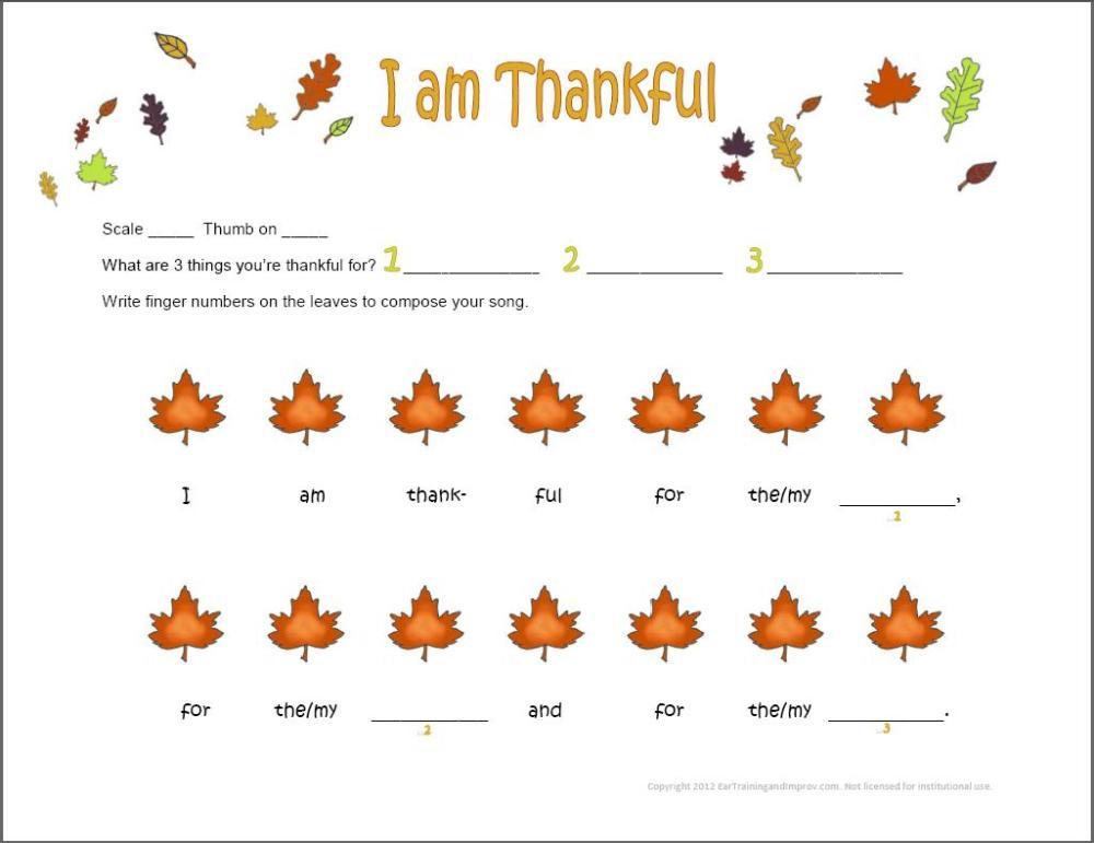 medium resolution of Thanksgiving Music Worksheets - 9 Fun Free Printables for Kids