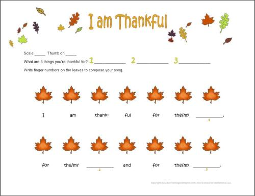 small resolution of Thanksgiving Music Worksheets - 9 Fun Free Printables for Kids