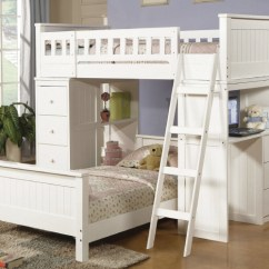 Toddler Beach Chairs White Faux Leather Hayden Twin Loft Bed Set With Desk