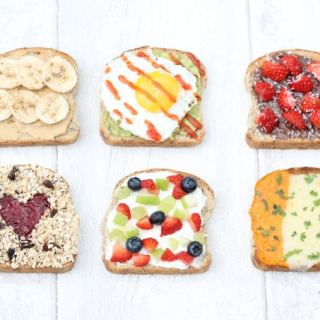 7 Healthy & Filling Breakfast Toasts