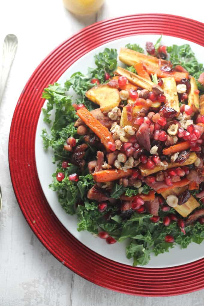 Christmas-Leftovers-Salad-Kale-Turkey-Ham_003