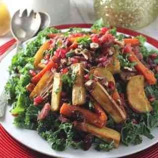 Christmas Leftovers Salad