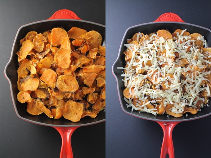 healthy sweet potato nachos