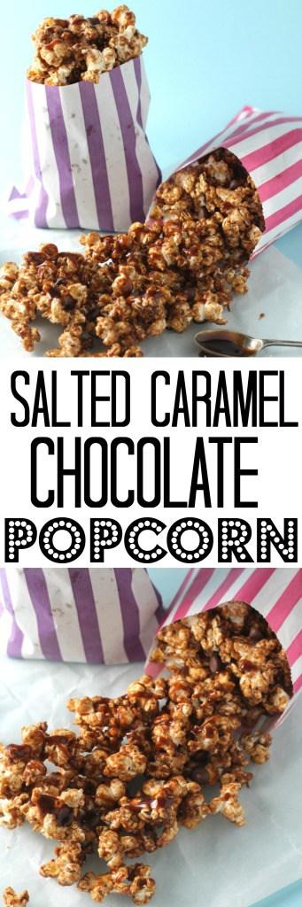 Salted Caramel Chocolate Popcorn - My Fussy Eater
