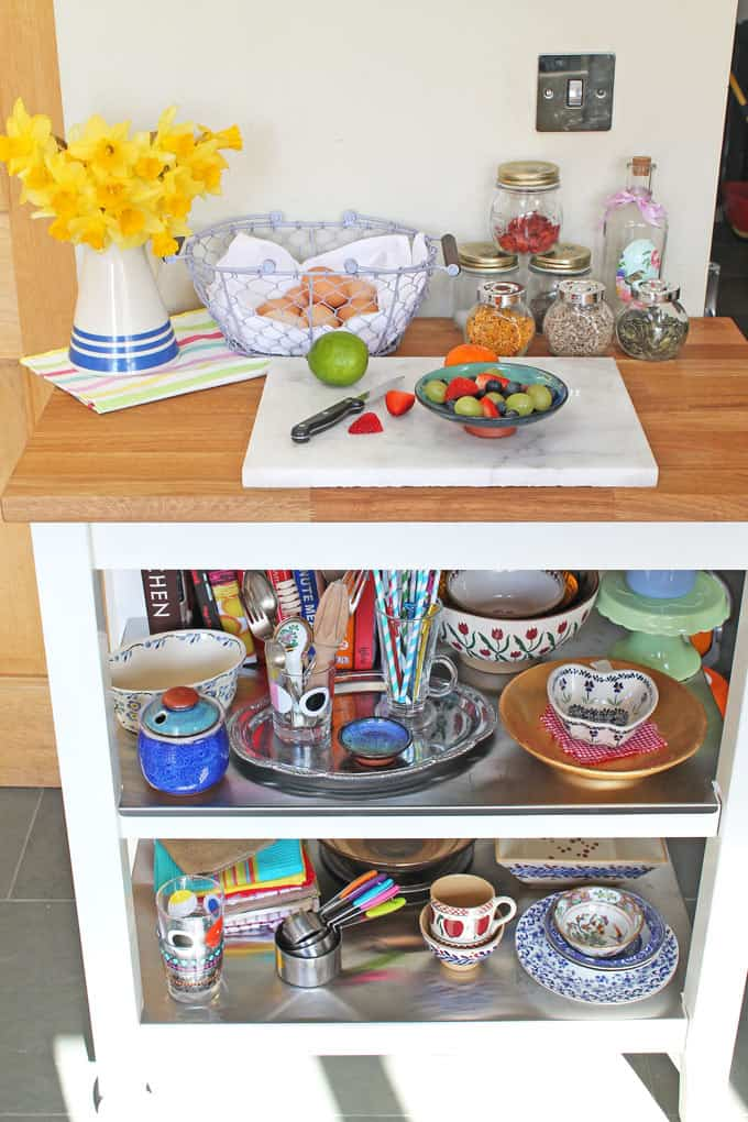Ikea Stenstorp Kitchen Trolley review and pictures