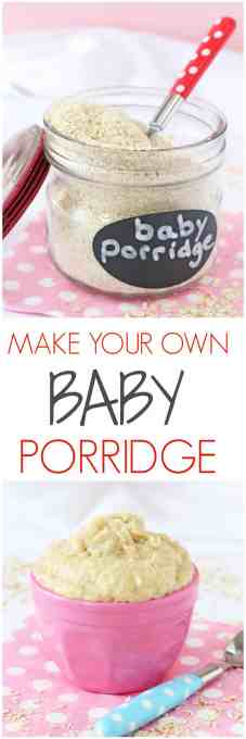 Making your own baby porridge or baby oatmeal is super easy and a much cheaper way to feed a weaning baby than the packaged variety   My Fussy Eater blog