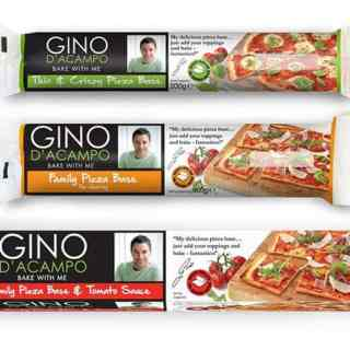 Gino D'Acampo Bake With Me Pizza Bases