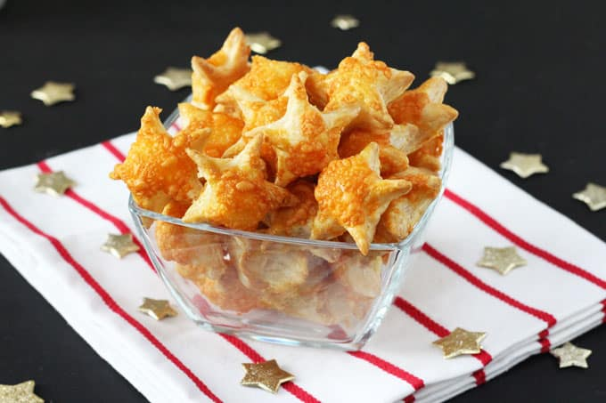 Cheesy Puff Pastry Stars My Fussy Eater Healthy Kids