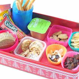 Store Cupboard Snack Station for Kids