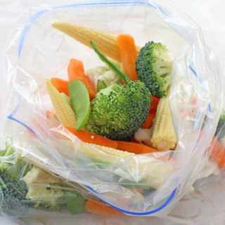 How To Steam Vegetables In A Bag