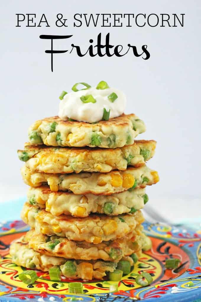 Pea Amp Sweetcorn Fritters My Fussy Eater