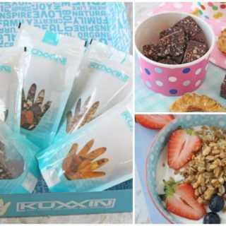 Kuxxin Healthy Organic Snack Box