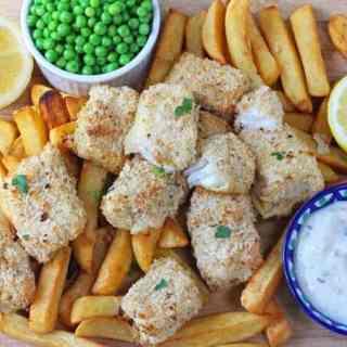 Lemon & Herb Fish Fingers for Kids