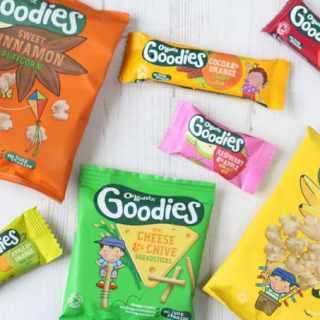 Organix New Toddler Snacks