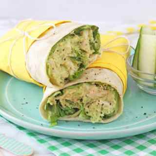 Chicken & Avocado Mayo Wrap