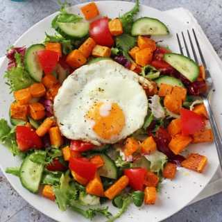 Winter Butternut Squash Salad