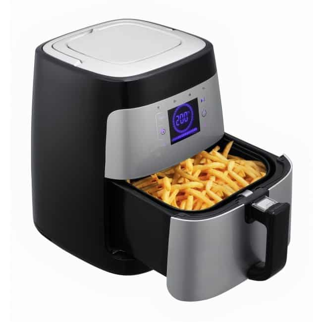 Optimum healthyfry air fryer giveaway my fussy eater for Air fryer fish and chips