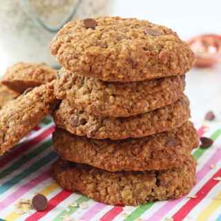 Healthier Chocolate Chip Cookies