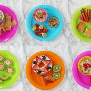 A Week of Breakfast Ideas for Kids
