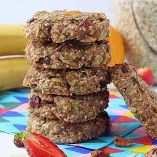 Fruit & Nut Breakfast Cookies