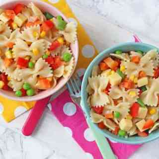 Easy Pasta Salad for Kids