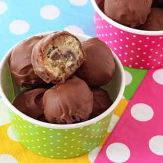 Chocolate Chip Cookie Dough Bites & The Chocolate Show