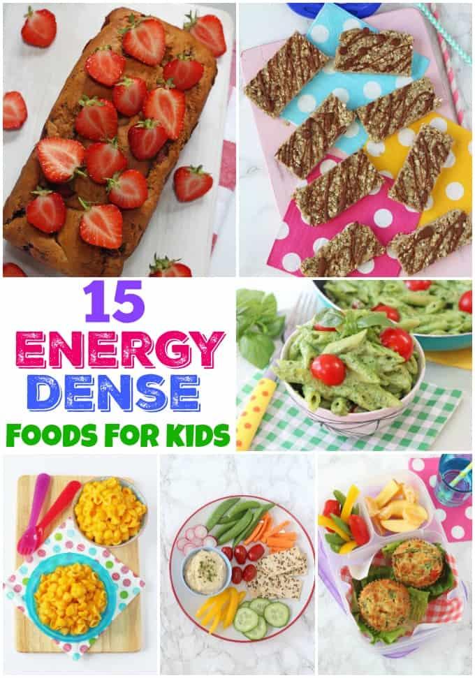 15 Energy Dense Recipes for Kids