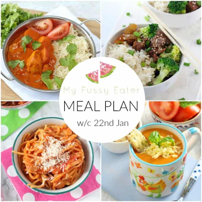 My Fussy Eater - Family Meal Plan