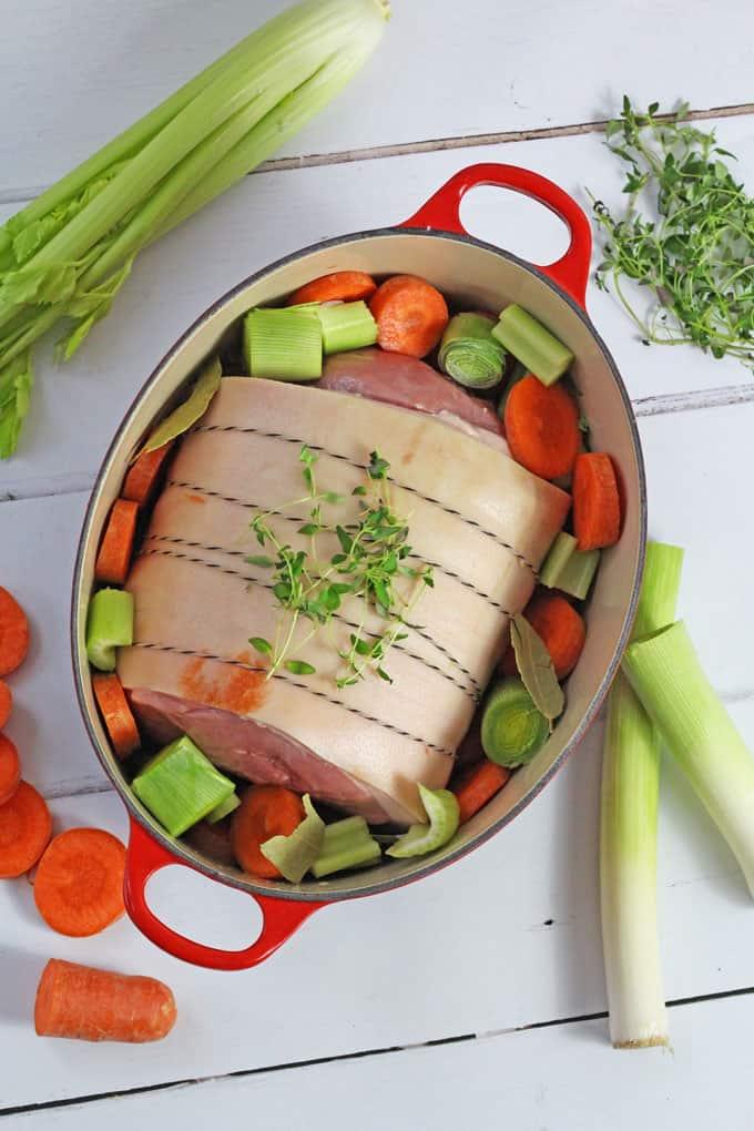 Sweet & Sticky Marmalade Glazed Ham