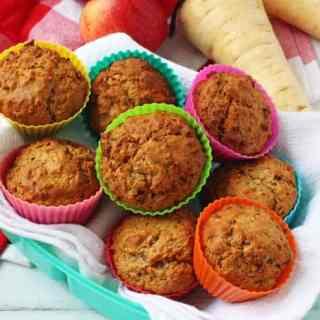 Peppa Pig's Parsnip Muffins