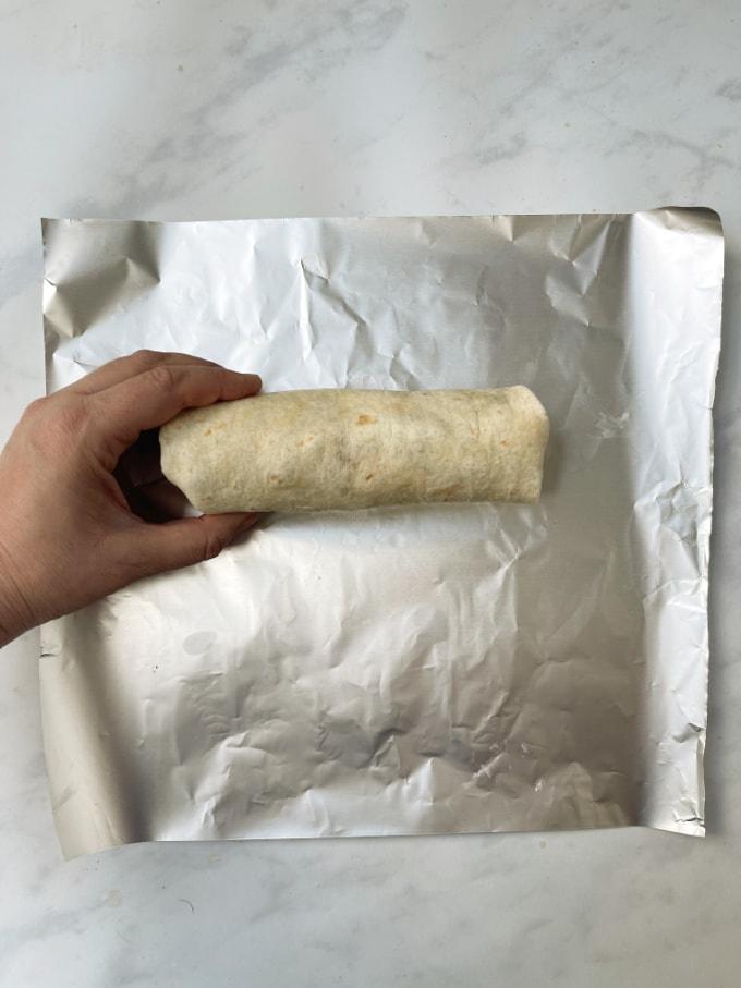 greek turkey wrap
