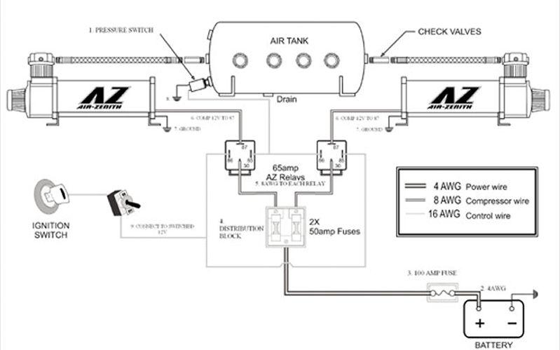 air ride suspension wiring diagram 1971 datsun 510 uas bags install myg37 0610mt 02 z zenith compressor jpg