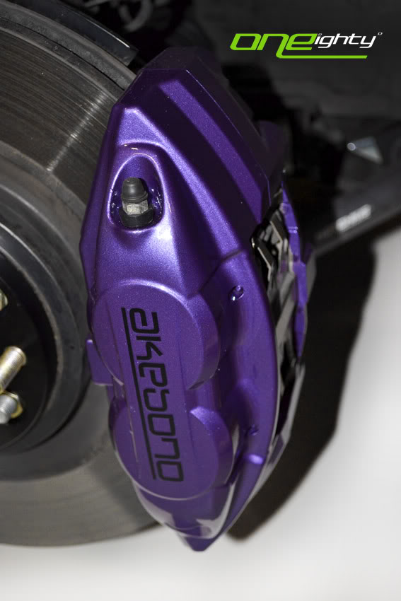 Special ONEighty Brake Caliper Re Styling Custom Colors